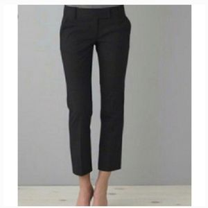J.Crew dark Navy blue cropped city fit Chino pants